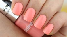 Swatch: Claire's - Pastel Neons (12553) - Pinky Polish