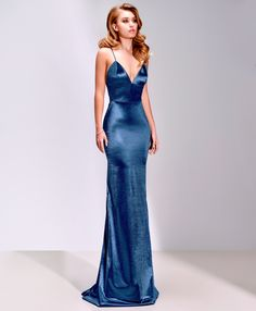 Spaghetti Straps Blue Satin Backless V-Neck Prom Dresses sold by Hot Lady. Shop more products from Hot Lady on Storenvy, the home of independent small businesses all over the world. V Neck Prom Dresses, Satin Dresses, Ball Dresses, Silk Dress, Ball Gowns, Dress Up, Formal Dresses, Blue Satin Dress, Backless Dresses