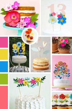 Ateliê Craft: Inspiração | Topo de bolo