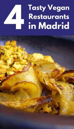 4 Tasty Vegan Restaurants In Madrid Our complete guide to vegan restaurants in Madrid, plus suggestions from vegan travellers for vegetarian food to eat in Madrid and the rest of Spain Cadiz, Malaga, Veg Restaurant, Restaurant Ideas, Best Brunch Places, Gluten Free Restaurants, Roadtrip, Foodie Travel, Vegetarian Recipes