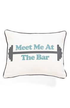 Levtex+'Meet+Me+at+the+Bar'+Accent+Pillow+available+at+#Nordstrom
