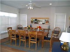 #NetworkVacations Searching for that perfect beach house for your vacation? This five bedroom, four and a half bathroom oceanfront rental at Kure Beach, North Carolina is three stories high with plenty of space for a family trip. #KureBeach