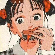 girl, anime şi icon imagine pe We Heart It Manga Anime, Old Anime, Fanarts Anime, Manga Art, Anime Art, Psychedelic Art, Aesthetic Art, Aesthetic Anime, Character Illustration