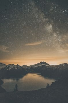 Garibaldi Provincial Park, BC, Canada ➾ Luke Gram