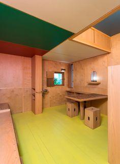 Inside Le Corbusier's Le Cabanon at Art Basel/Design Miami    Read more: http://www.dwell.com/slideshows/cassina-le-corbusier-cabanon-interior.html?slide=10=y#ixzz2EWjiZ7NY  artbasel 1155