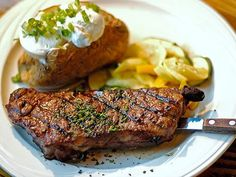 STEAK! This would do me good right now