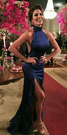 royal blue mermaid dress,backless prom dress,sexy long evening