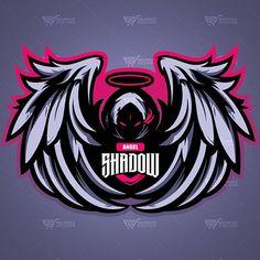 Team Logo Design, Logo Desing, Mascot Design, Design Vector, Shadow Logo, Shadow Art, Logo Esport, Fantasy Logo, Esports Logo