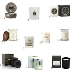 Scented candles for autumn - Adalmina's Secret