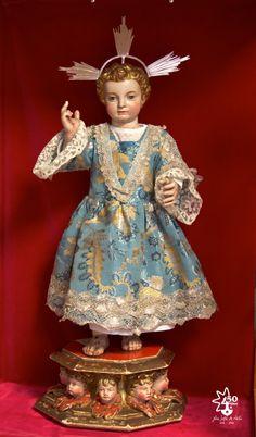 'Premier' Enfant Jésus de Thérèse de Jésus / Sainte Thérèse d'Avila (El Mayorazgo). Musée Saint Joseph / San José de Ávila