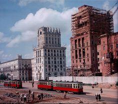 Цветное фото СССР 1952 года
