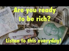 """""""Isn't it wonderful?"""" Positive Money Affirmations 