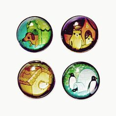 amazingly strong magnets, ANIMAL HOUSE magnets #housewares by boygirlparty on Etsy http://etsy.me/2ikN0Yg