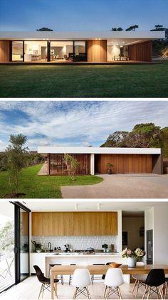 Architecture Résidentielle, Sustainable Architecture, Contemporary Architecture, Brighton Houses, Australia House, Casas Containers, Facade House, House Exteriors, Home Design Plans