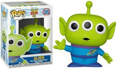 Disney: - Toy Story 4 - Alien (Toy Used Very Good). Disney Pop, Disney Pixar, Disney Films, Buzz Lightyear, Pop Vinyl Figures, Funko Pop Figures, Funko Pop Toy Story, Funko Pop Toys, Pop Figurine