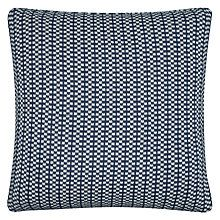 Buy John Lewis Croft Collection Tiny Check Stripe Cushion Online at johnlewis.com
