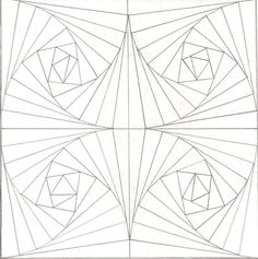 optical illusion coloring pages - Google Search | Siyah beyaz ...