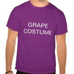 Grape Costume T Shirt