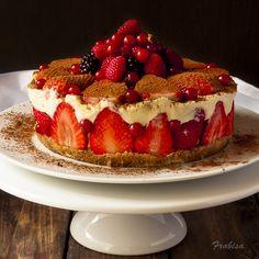 La cocina de Frabisa: Tiramisú de fresas. RECETA