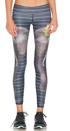 These leggings are amazing - perfect for an elephant lover Workout Attire b7fa0050c08