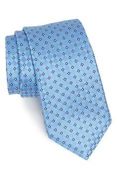 $49, Nordstrom Woven Silk Tie Light Blue Regular. Sold by Nordstrom. Click for more info: https://lookastic.com/men/shop_items/88594/redirect