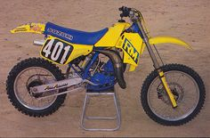1987 Facrory Suzuki RM125 of Donny Schmit | Flickr - Photo Sharing!