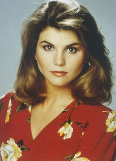 "Lori Loughlin from the TV show ""Full House"""
