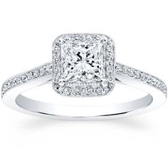 Princess Cut & Round Brilliant Diamond Ring. This is my ring!!!! It is only a matter of time, Costco, PLEASE don't stop selling it! I have tried it on, and it is gorg!