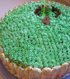 Maanan matkassa: Turtles-kakku