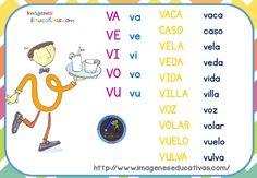 fichas-de-repaso-letrilandia-18 Spanish Language Learning, Teaching Spanish, Learn Spanish, Dora, Spanish Culture, Bilingual Education, Vocabulary, Villa, Coding