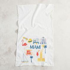 Claudia Pearson City Tea Towels