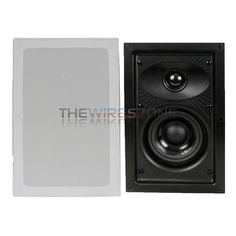 """DLS IW 2.4 2-Way 4 Ohm 4"""" 90W In Wall Hi-Fi Home Theater Speaker System (pair) #DLSAudio Home Theater Speaker System, In Wall Speakers, 2 Way"""