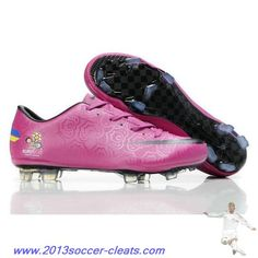 8d5fd0d5b8e Authentic Euro Nike Mercurial Vapor VIII FG Rose Black Football Boots Black  Football Boots
