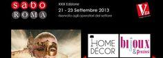 SABO – Salone Nazionale del Regalo, Tavola, Bomboniere, Bijoux, Home Décor – Roma dal 21 al 23 settembre 2013 | Madeinitaly For Me