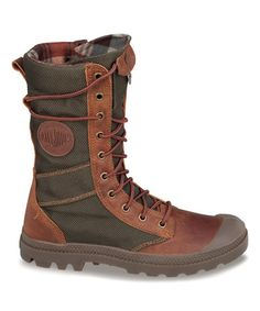 Loving this Brown & Olive Drab Pampa Tactical Boot - Women on #zulily! #zulilyfinds