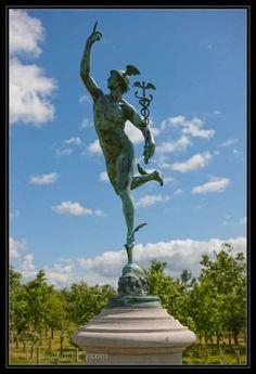 Hermes Trismegistus - working toward a Dancer's Pose. Greek Mythology Tattoos, Roman Mythology, Wicca, Magick, Pagan, Witch History, Art History, Dancers Pose, Principles Of Art