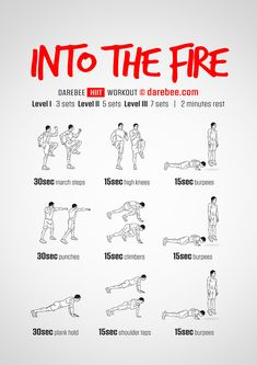 Into the Fire Workout