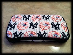 New York Yankees Baby Wipe Case by ForeverBambinos on Etsy, $18.00
