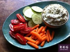Cucumber-Feta Dip makes 6 servings  1/2 of a large cucumber 1/2 {8-oz} package cream cheese, softened 1 {4-oz} package crumbled feta 2 Tbsp fresh chopped dill 1 small garlic clove, pressed 1/2 tsp lemon zest a touch of kosher salt & pepper to taste raw vegetables * pita chips * crostini * crackers