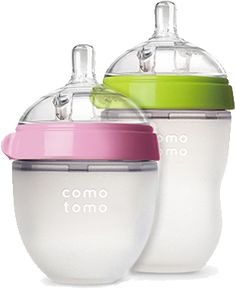 End the frustration you feel when your baby refuses the bottle. Comotomo's innovative design has some mom's saying ours are the best bottles for newborns.