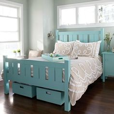 Furniture | Everything Turquoise | Page 7 Shutter bed