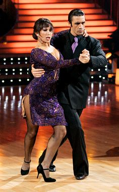 "My favorite celebrity to be on Dancing with the Stars.  Gilles Marini and Cheryl Burke dancing the Argentine Tango to the tango from Mr. and Mrs. Smith, ""Assasin's Tango""."