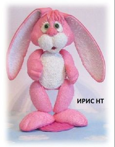 """Зайка Скромник,куклы из фоамирана,серия """"Зефирки"""",рост 26 см"""