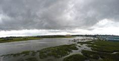 Wilmington River off of the Thunderbolt bridge