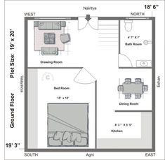 North East Facing House Plans As Per Vastu North East Facing House