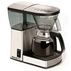 The greatest coffee maker for the money. Step aside, Cuisinart. Bonavita BV1800TH 8-Cup Coffee ...