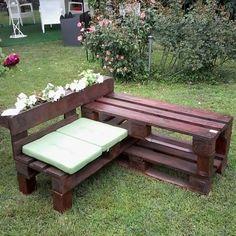 Мебель для дачи своими руками: 20 фото