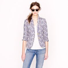 I wish... J.Crew Liberty blazer.