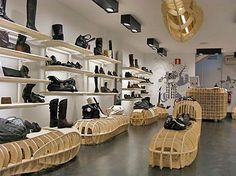 Retail Design | Footware | U casas Store
