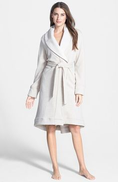 UGG® Australia Double Knit Robe available at #Nordstrom in color: Port